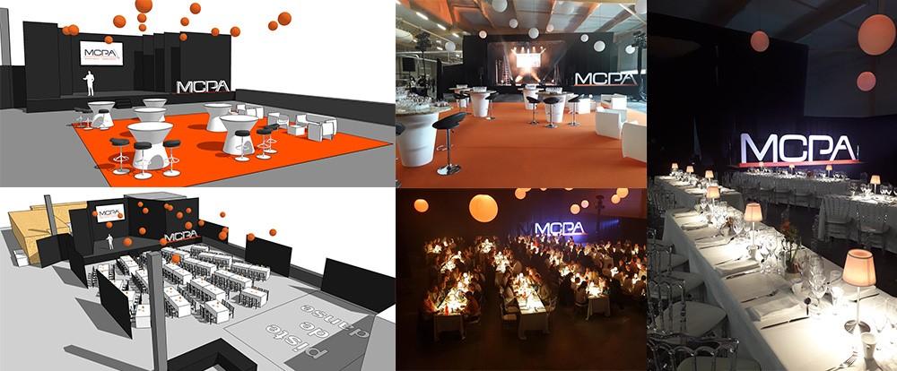 prestataire événémentiel Vendée, agence événementielle, organisation d'événement Vendée, scénomob, décor, décoration, scénographie, MCPA Aizenay,