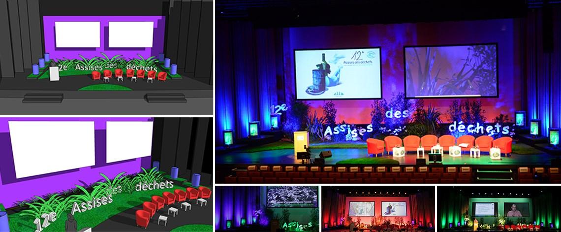 scénographie, assises, décors de scène, Nantes
